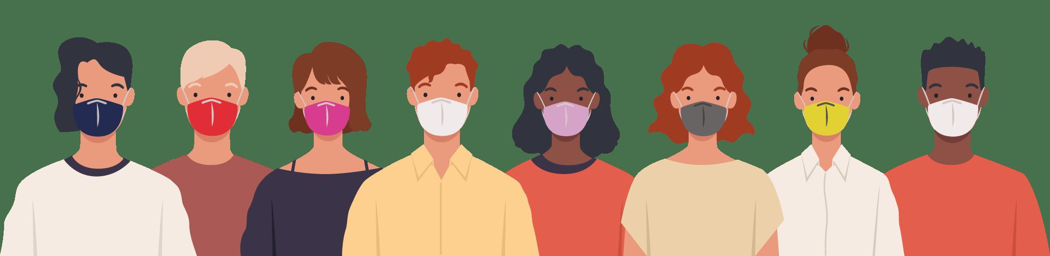 Máscaras para todos os gostos